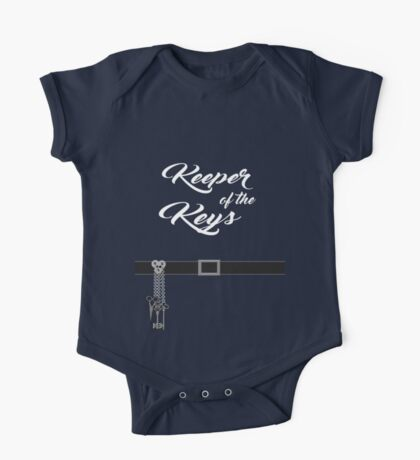 Keeper of the Keys: With Words One Piece - Short Sleeve