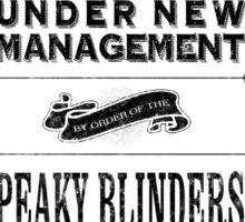 Peaky Blinders Sticker