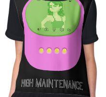 High Maintenance (Tamagotchi) Chiffon Top