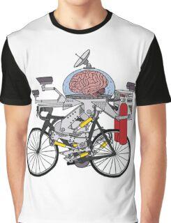Brain Bike Graphic T-Shirt