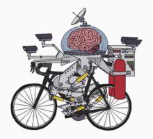 Brain Bike One Piece - Long Sleeve