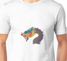 Embroidered Chinese New Year Dragon  Unisex T-Shirt