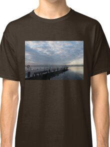 Morning Jetty - A Luminous Daybreak On The Waterfront Classic T-Shirt