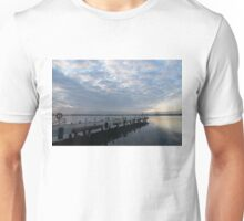 Morning Jetty - A Luminous Daybreak On The Waterfront Unisex T-Shirt