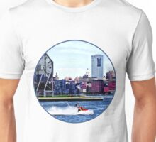 Jet Skiing by Colgate Clock Unisex T-Shirt
