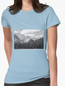 These Mountains Womens Fitted T-Shirt