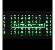 The Matrix - System Failure Photographic Print
