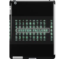 The Matrix - System Failure iPad Case/Skin