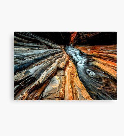 Hancock Gorge Canvas Print