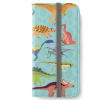 Dazzling Dinos iPhone Wallet/Case/Skin