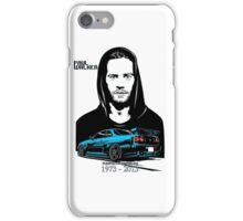 We are Paul walker iPhone Case/Skin