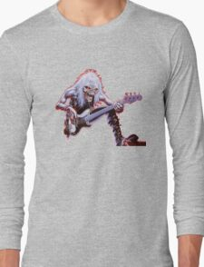 IRON MAIDEN ON PERFOME Long Sleeve T-Shirt