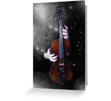 The winter's music Greeting Card