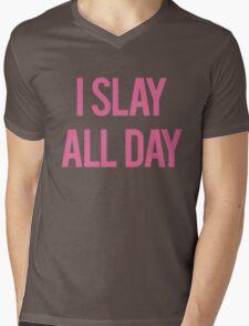 Slay all day Mens V-Neck T-Shirt