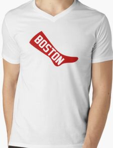 boston red sox Mens V-Neck T-Shirt
