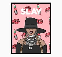 I Slay All Day Womens Fitted T-Shirt