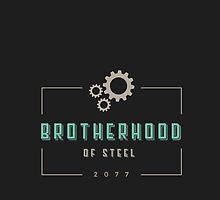 BROTHERHOOD OF STEEL by SallyDiamonds