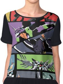 Super Robots Chiffon Top