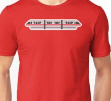 MONORAIL - RED Unisex T-Shirt
