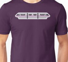 MONORAIL - LIGHT VIOLET Unisex T-Shirt