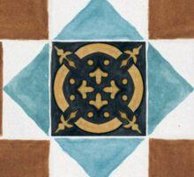 Manx tiles - Ratcliffe Sticker