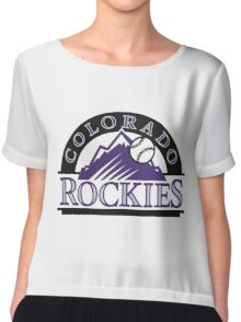 colorado rockies Chiffon Top