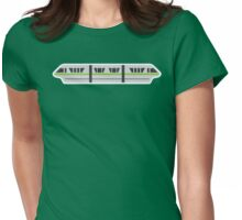 MONORAIL - LIME Womens Fitted T-Shirt
