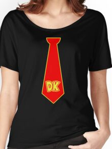 donkey kong neck tie Women's Relaxed Fit T-Shirt