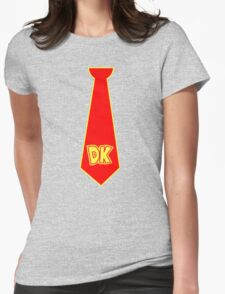 donkey kong neck tie Womens Fitted T-Shirt