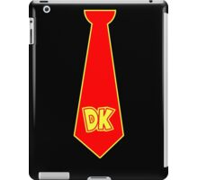 donkey kong neck tie iPad Case/Skin