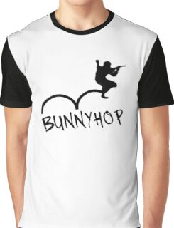 "CS:GO Bhop Print ""BUNNYHOP"" Graphic T-Shirt"