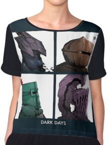 bros of lordran Chiffon Top