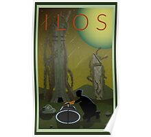 Mass Effect Ilos Travel Poster Fan Art Poster