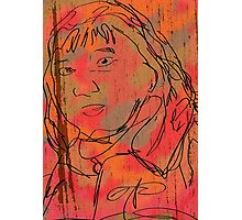 The Staring Woman Photographic Print