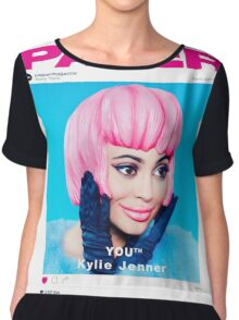 kylie jenner poster Chiffon Top
