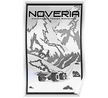 Mass Effect Noveria Travel Poster Fan Art Poster
