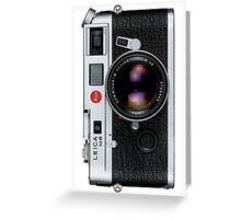 Leica M6 Greeting Card