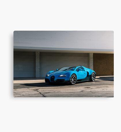 Transformers Bugatti Veyron Canvas Print