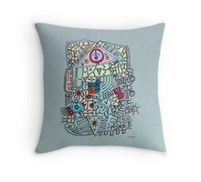 - eye - Throw Pillow