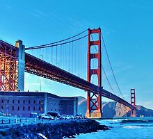 the Golden Gate by Stephen Burke