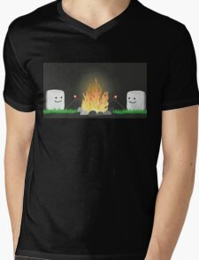 Backwards Smores Mens V-Neck T-Shirt