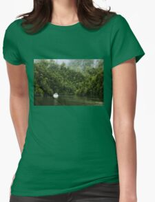 Mystic River Womens Fitted T-Shirt