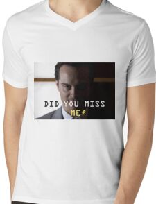 Jim Moriarty  Mens V-Neck T-Shirt