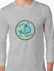 Inspirational Whale Long Sleeve T-Shirt