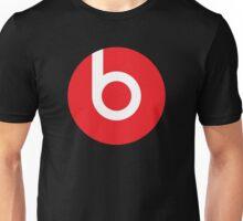 Beats   Logo   Black Background   High Quality!  Unisex T-Shirt