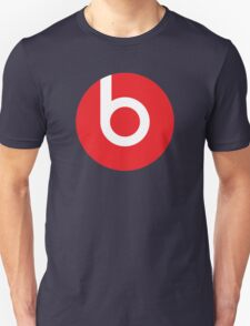 Beats | Logo | Black Background | High Quality!  Unisex T-Shirt