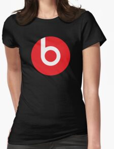 Beats | Logo | Black Background | High Quality!  Womens Fitted T-Shirt