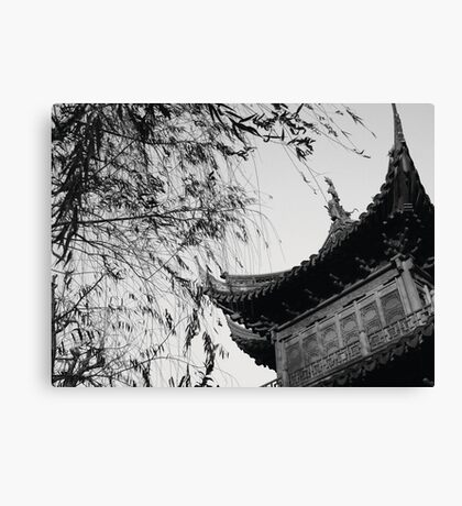 Once Upon A Time In China Canvas Print