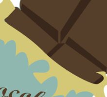 chocolate bar Sticker