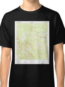 USGS TOPO Map Alabama AL Bellamy 303205 1971 24000 Classic T-Shirt